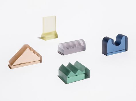 At Rossana Orlandi, we spied this collection of items by students in the School of the Art Institute of Chicago's Architecture, Interior Architecture, and Designed Objects program. The school partnered with West Supply, a Chicago-based foundry and fabrica