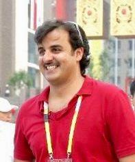 Sheikh Tamim Amir Of Qatar Young Stylish Young Age