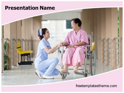 Download #free #Nursing #PowerPoint #Template for your #powerpoint - nursing powerpoint template