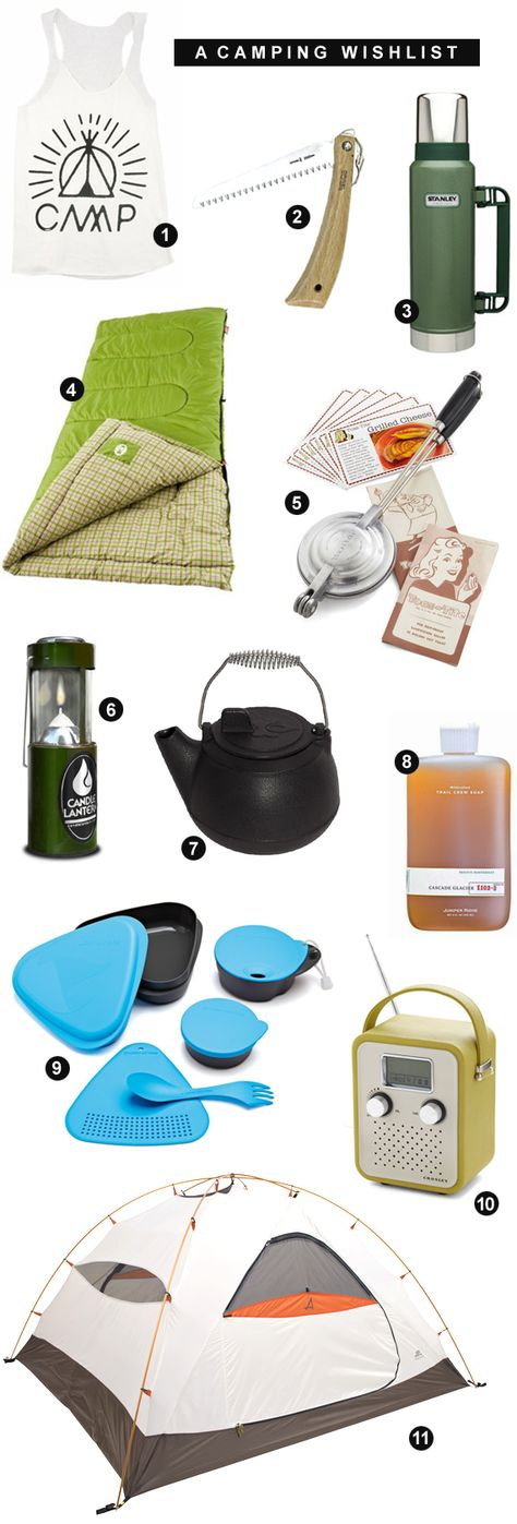 A Camping Wish List