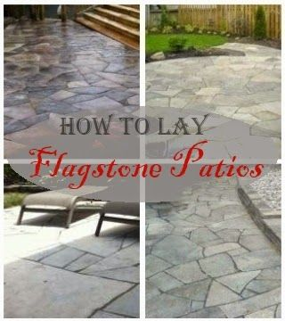 How To Lay Flagstone Patios | Flagstone And Drainage | Pinterest | Flagstone  Patio, Flagstone And Patios