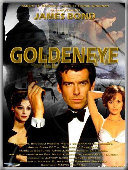 Film Avec Pierce Brosnan : pierce, brosnan, James, GoldenEye, Pierce, Brosnan, Плакат