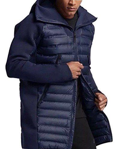 ce5cbfa60 Men's Nike Sportswear Tech Fleece AeroLoft Down Parka Jacket | NIKE ...