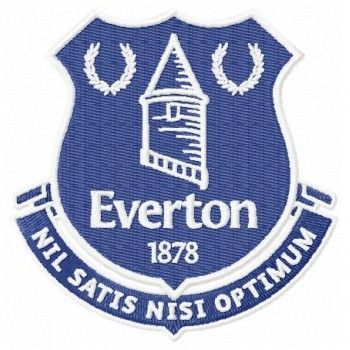 Pin On Everton Fc Logo Machine Embroidery Design For Instant Download
