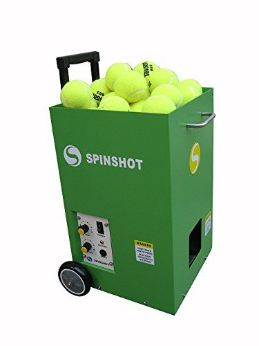 Spinshot Lite Tennis Training Machine Best Model For Junior Player Tennis Ball Machines Tennis Ball Table Tennis Player