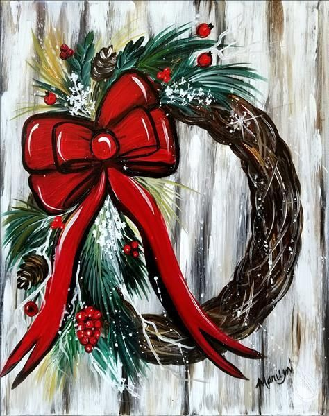 Christmas In Mason Ohio 2020 Events | Painting Party in Mason, OH | Painting with a Twist in