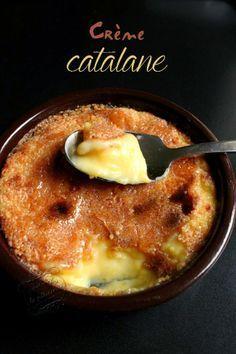 Il était une fois la pâtisserie...: Crème catalane à la fleur d'oranger