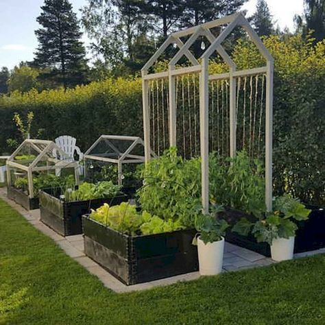55 Favorite Garden Boxes Raised Design Ideas - LivingMarch.com