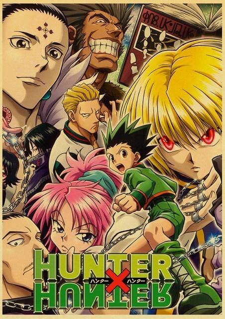 Hunter x Hunter Retro Posters - 42X30 CM / E170