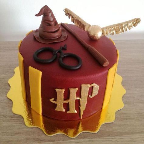 Torta De Harry Potter Cake Torturi Harry Potter Kuchen Harry