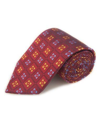 Robert Talbott Best Of Class Berry Neat Woven Silk Tie