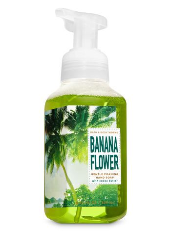 Banana Flower Gentle Foaming Hand Soap Fresh Banana Puree