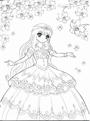 Japanese Anime Coloring Pages Fresh Japanese Cartoon Coloring Pages Disney Princess Coloring Pages Princess Coloring Pages Princess Coloring