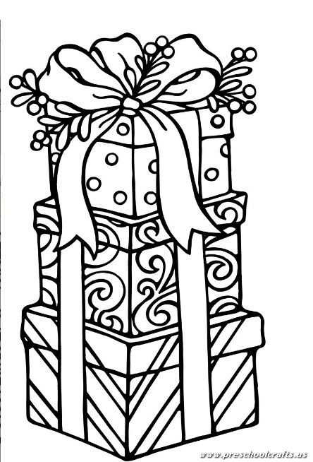 Christmas Worksheet For Preschool And Kindergarten Preschool And Kindergarten Printable Christmas Coloring Pages Christmas Gift Coloring Pages Christmas Coloring Sheets