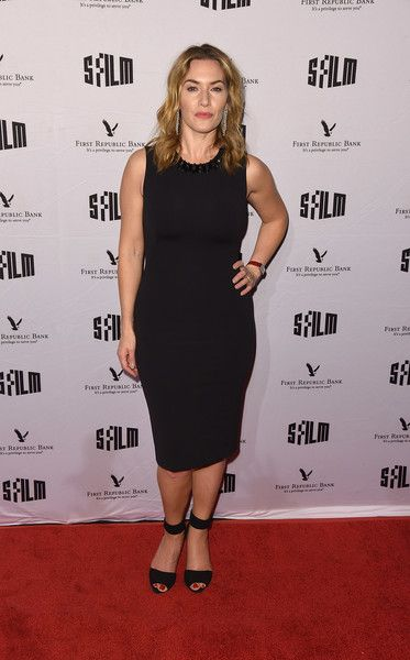 Kate Winslet attends SFFILM's 60th Anniversary Awards Night at Palace of Fine Arts Theatre.