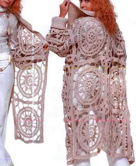 Stylish Crochet Cardigan For Ladies
