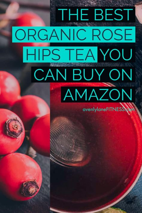 If you have not yet tried herbal tea you are missing out. This is one of the best organic rose hips tea I have ever tried! Enjoy the health benefits and amazing taste.