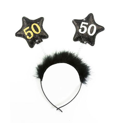 Haarreifen 50 Geburtstag Party Jubiläum Feier