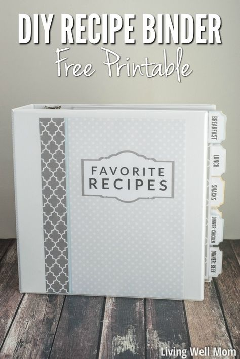 Ordner Recipe Binder Decorate Your Home Like a Pro with These Easy Steps You've moved Homemade Cookbook, Making A Cookbook, Cookbook Ideas, Cookbook Display, Fixate Cookbook, Cookbook Storage, Cookbook Design, Kids Cookbook, Cookbook Recipes