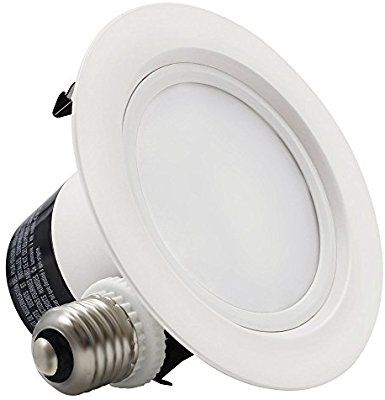 12watt 4 Inch Dimmable 3000k Warm White Retrofit Led Recessed Lighting Fixture Led Ceiling Light In 2020 Led Recessed Lighting Led Ceiling Lights Recessed Lighting