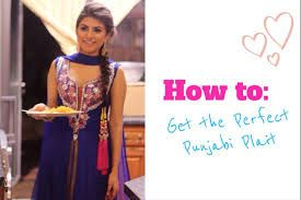 Mehndi Hairstyles With Paranda : Bridal makeup professional & fashion pinterest
