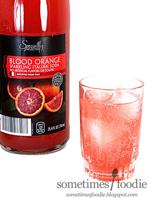 Sometimes Foodie Blood Orange Sparkling Italian Soda Aldi Cherry Hill Nj With Images Italian Soda Blood Orange Blood Orange Soda