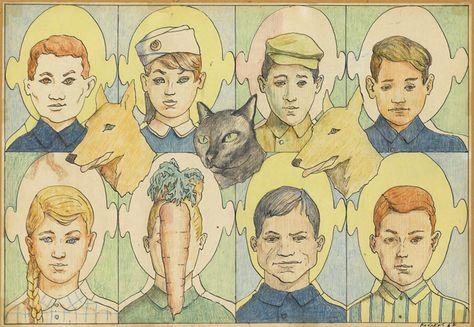Идеи на тему «Илья Кабаков» (8) | художники, книжные иллюстрации, картины