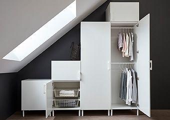 Platsa System Ikea Kledingkast Opbergmeubel Kledingkast