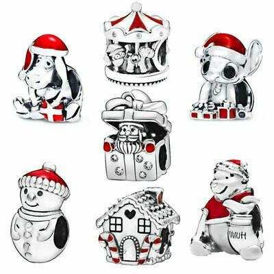 Pandora Christmas Advert 2020 eBay)(Ad) 2019 PANDORA Disney Stitch Christmas Charm #798452C01 in