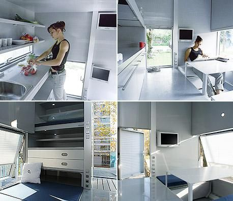 m ch I Micro Compact Home Horden Cherry Lee Architects   perfect for a  minimalist lifestyle   M I N I M A L I S T   Pinterest   Compact house   Compact and. m ch I Micro Compact Home Horden Cherry Lee Architects   perfect