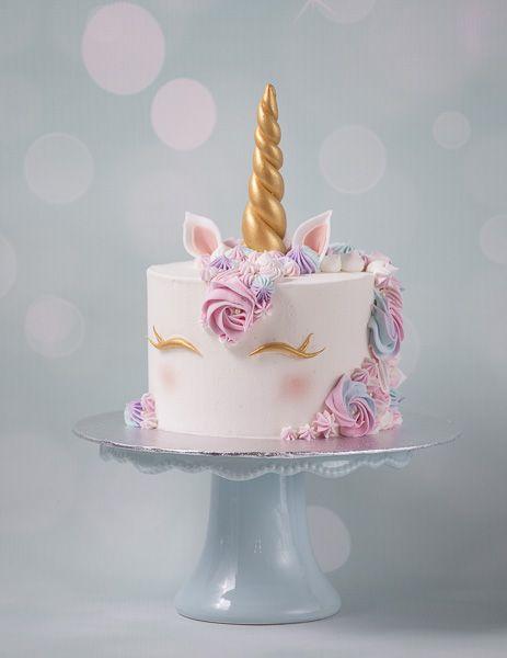 Unicorn Cake Kurs Buttercream