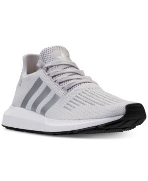 Adidas Women S Swift Run Casual Sneakers From Finish Line Grey Silver 6 5 Adidas Women Tennis Shoe Outfits Summer Casual Sneakers