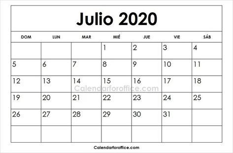 Calendario 2020 Portugal Excel.Pinterest