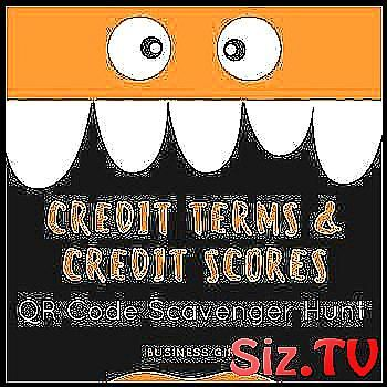 Credit Terminology And Credit Scores Qr Code Scave Activity Code Collaborating Concepts Cosigner Credit Great Hunt Coding Credit Score Scavenger Hunt