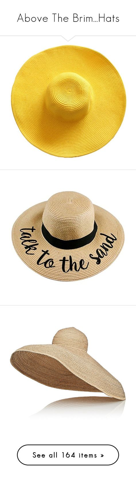 c39c0748 List of Pinterest wide brim hat beach polyvore ideas & wide brim hat ...