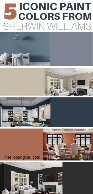 5 Iconic Paint Colors From Sherwin Williams And Pottery Barn Pottery Barn Paint Colors Best Bedroom Paint Colors Sherwin William Paint