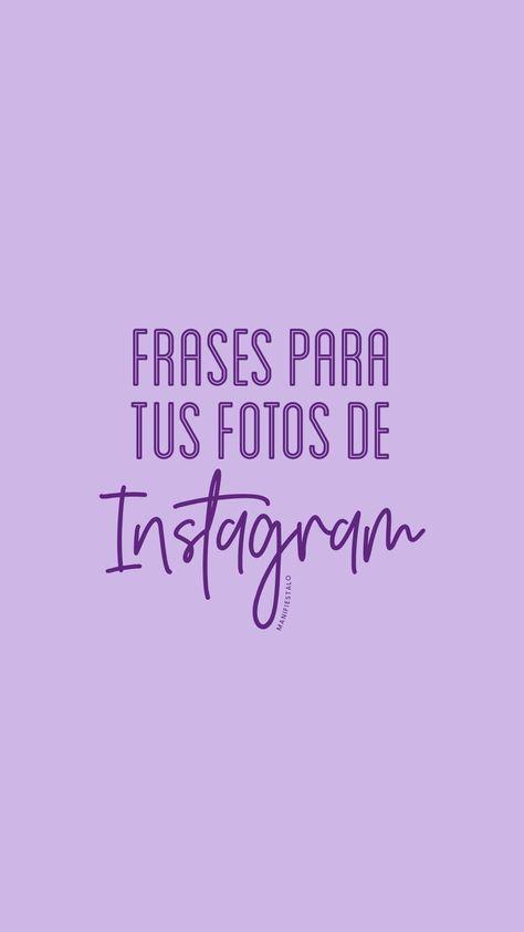 400 de las mejores frases para compartir con tus seguidores y acompañar tus fotos de Instagram y otras redes sociales! #frases #fotos #feed #Instagram #redessociales #pensamientos #positivo #mantras #afirmaciones