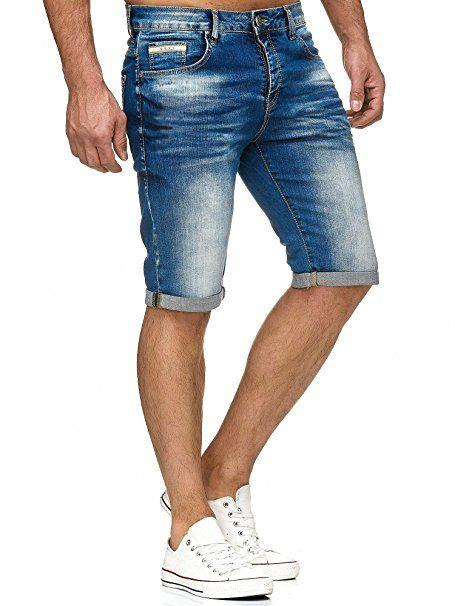 ef06c7f7df Red Bridge Herren Jeans Short Kurze Hose Denim Basic Blau W29 - Sommer Hosen  Trends sommerhosen