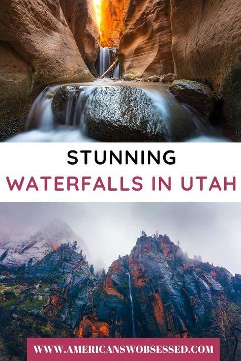 Stunning Waterfalls in Utah you won't want to miss!