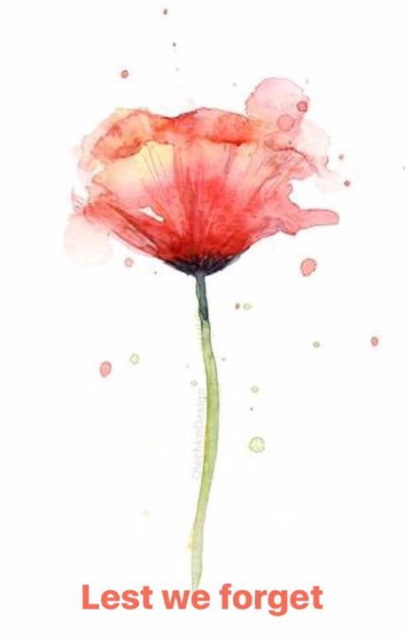 Shining Stars Academy Will Be Closed For Anzac Day Wednesday 25th April We Will Open As Per Normal On Thur Poppy Wall Art Watercolor Poppies Flower Prints Art