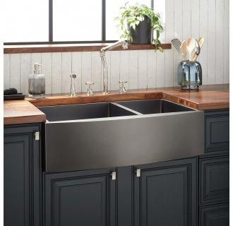 Signature Hardware 944665 36 Build Com Stainless Steel Farmhouse Sink Farmhouse Sink Kitchen Stainless Farmhouse Sink