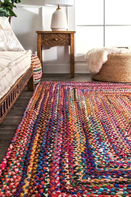 Chindi Braided Rug Floor Rugs