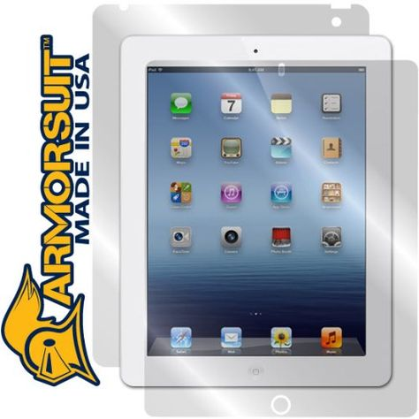 Brand New! ArmorSuit Apple iPad Mini 4 Screen Full Body Skin Protector