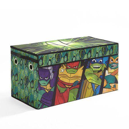 Teenage Ninja Mutant Turtles Soft Storage Play Trunk Walmart Com Ninja Turtle Room Turtle Room Teenage Mutant Ninja Turtles Bedroom