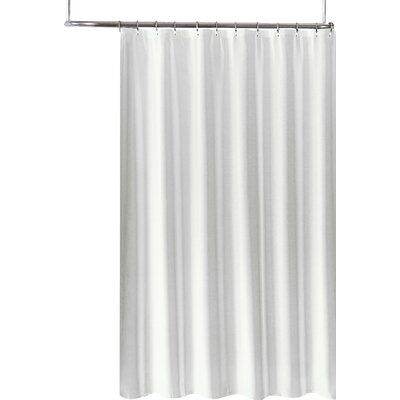 Symple Stuff 2 In 1 Single Shower Curtain Fabric Shower Curtains