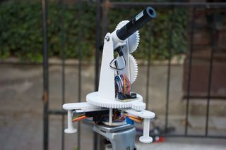 Star Track Is An Arduino Based Goto Mount Inspired Star Tracking System It Can Point And Track Any Object In The Sky Celesti Power Star Arduino Diy Telescope