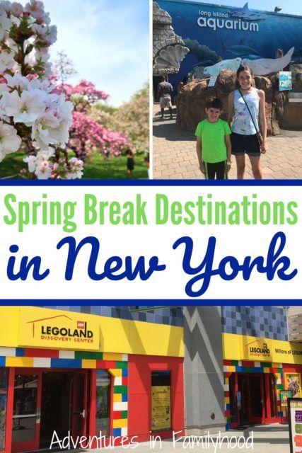 Spring Break Destinations In New York State Adventures In Familyhood Spring Break Destinations Spring Break Vacations Family Spring Break Vacations