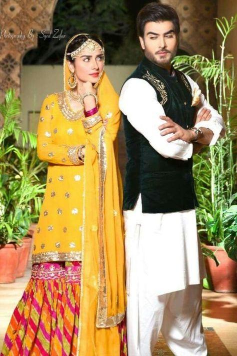 Latest Multi Shaded Bridal Mehndi Winter Suits For Pakistani & Indian Women