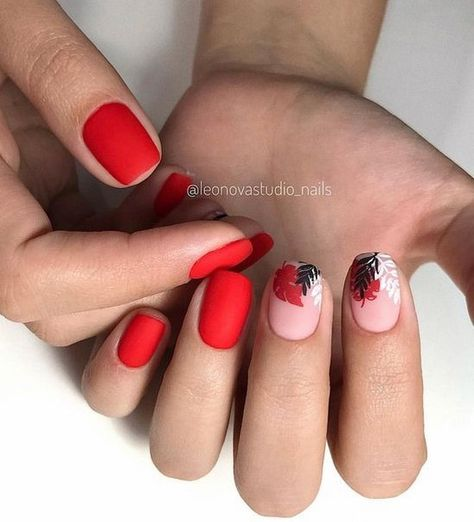 55 amazing red nail ideas that you can create when ever you want