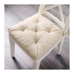 MALINDA Chair pad light beige 1614x15x3